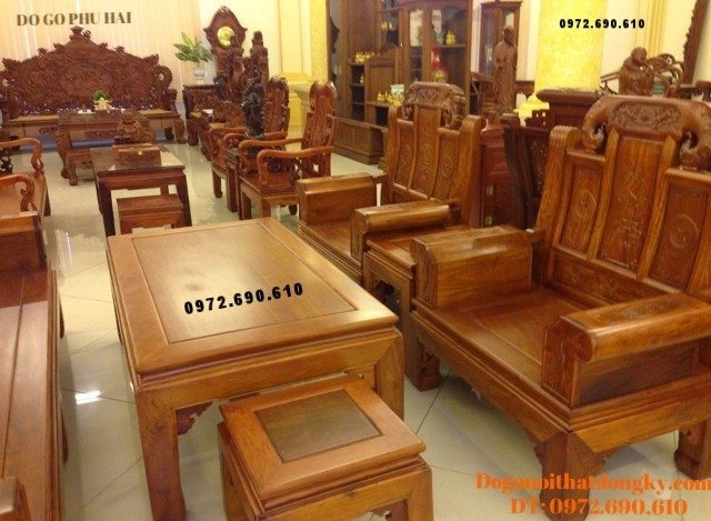Bán Bộ bàn ghế đồng kỵ giá rẻ kiểu như ý B108