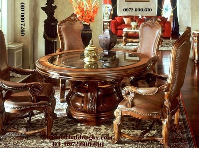 Phòng khách sang trọng bới Bộ bàn ghế đẹp B122