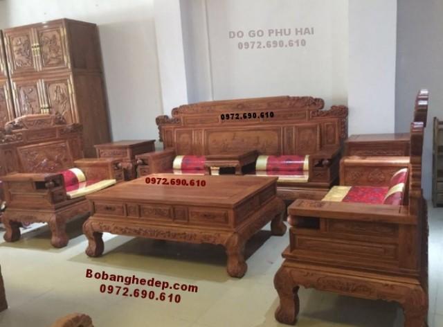 Bàn ghế đồng kỵ Bắc Ninh mẫu đẹp giá tốt B.193