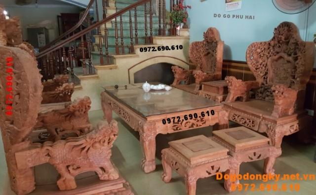 Bàn ghế đẹp kiểu Bát mã giá rẻ bất ngờ B.194