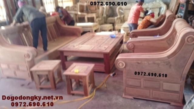 Mẫu bộ bàn ghế đẹp cho Phòng khách hiện đại B.195