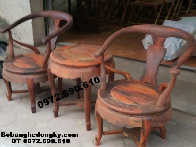 Bộ bàn ghế bàn trà cho nhà nghỉ