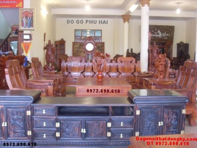 Bàn ghế gỗ hương đẹp kiểu mẫu như ý NY<>71