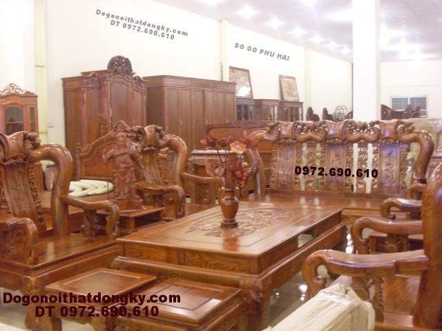 Bàn ghế gỗ đồng kỵ gỗ hương Quốc đào QD<>72