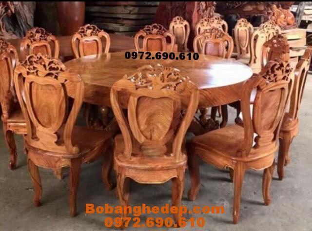 Bộ bàn ghế phòng ăn đẹp