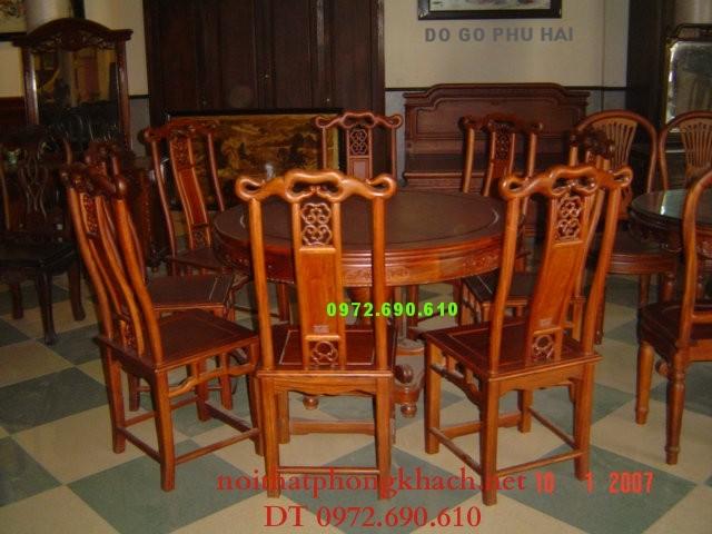 Nơi bán Bộ bàn ghế phòng ăn kiểu Bàn Tròn BT21
