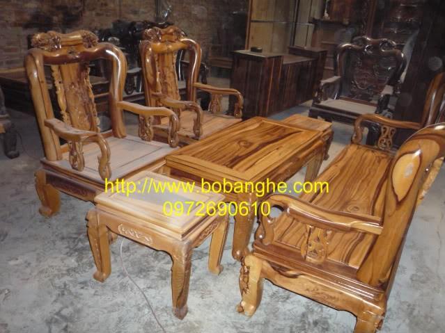 Bàn Ghế gỗ Cẩm thị Kiểu Minh quốc Hông CT2