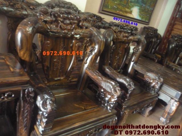 Bộ bàn ghế đẹp kiểu Công Phượng Vai 16 PC17