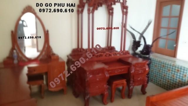 Đồ gỗ Phú Hải SX Bàn trang điểm đẹp TP29