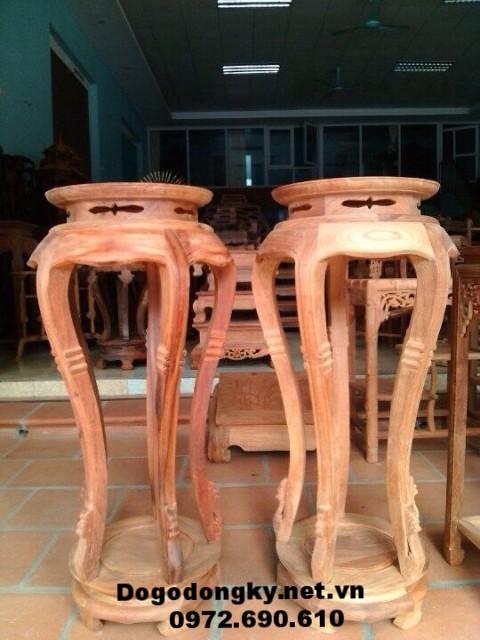 Sản xuất Đôn gỗ trang trí mẫu mã phong phú D.14