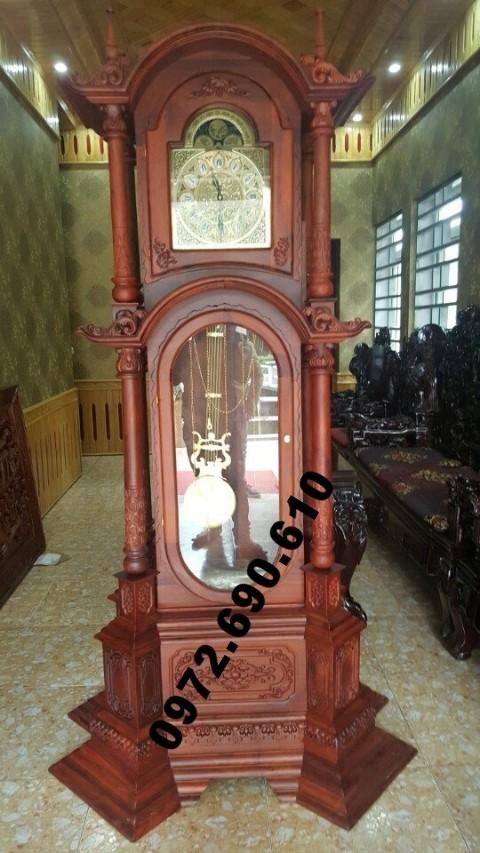 Phòng khách đẹp và sang với Đồng hồ kiểu Đức DH64