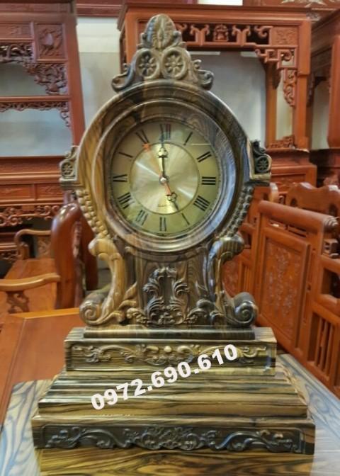Đồng hồ để bàn làm việc: quà tặng ý nghĩa DH84