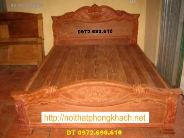 Giường ngủ ,Giường Đài Loan Đồ gỗ Đồng Kỵ GN1