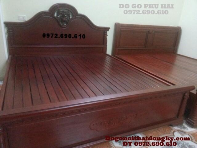 Giường ngủ đẹp kiểu mới hiện đại GN25