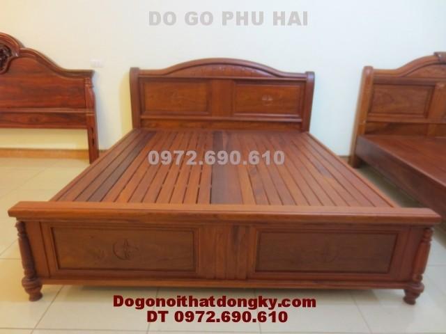 Giường ngủ, Giường gỗ đồng kỵ GN<>30