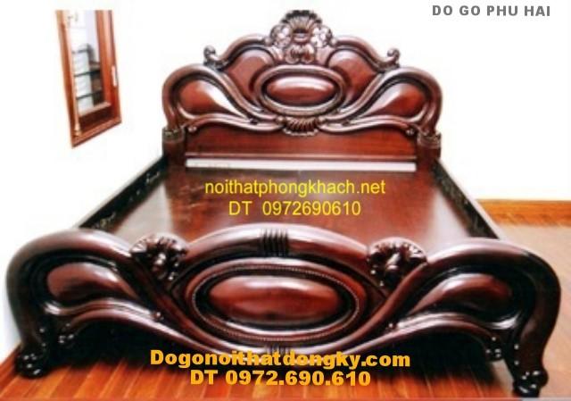 Giường ngủ ,Giường xoài đồ gỗ đồng kỵ GX1