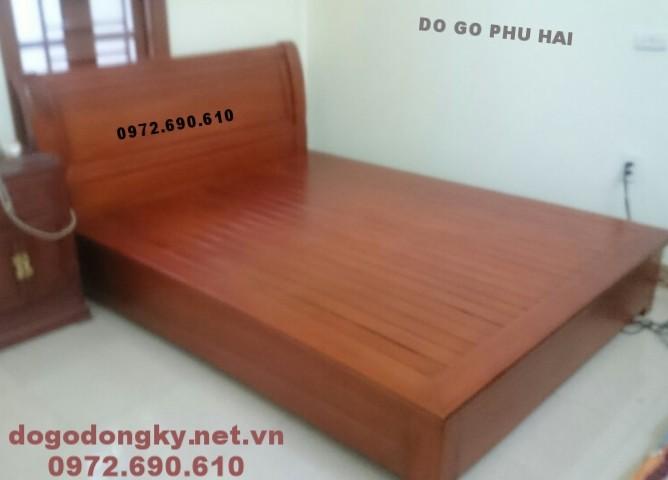 Mẫu giường ngủ đẹp với phòng ngủ hiện đại GN.70