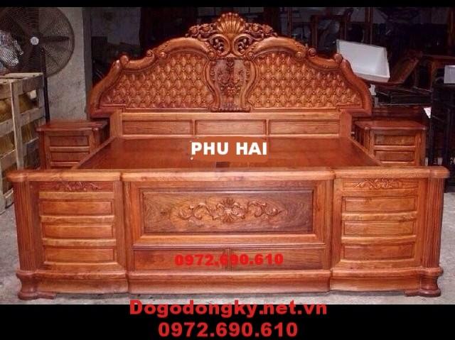 Sản xuất giường ngủ đẹp giá rẻ giao hàng toàn quốc GN.76