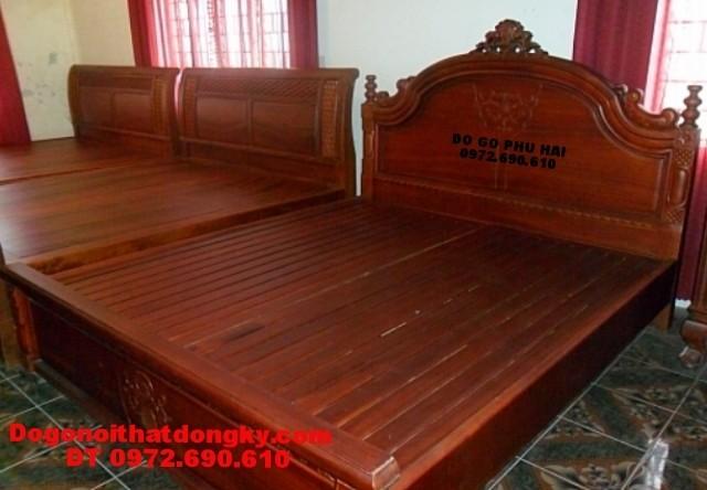Giường ngủ, Giường ngủ đẹp dogonoithatdongky.com GN>33