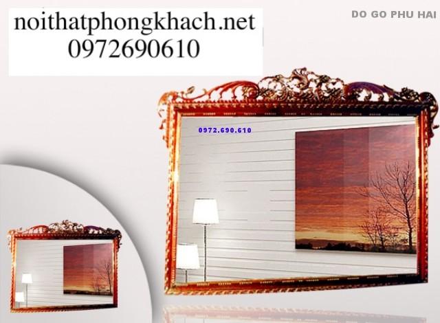 Nơi bán Gương treo tường Mỹ nghệ Phú Hải GT4