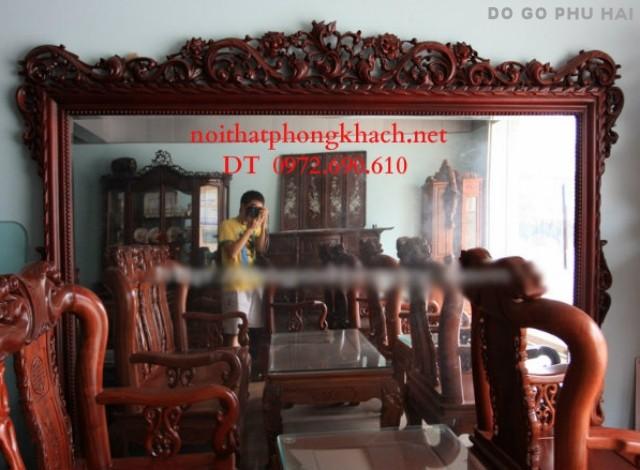 Đồ Gỗ mỹ nghệ Đồng kỵ,Gương treo tường GT7