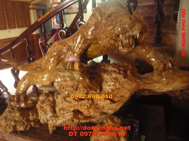 Hàng Độc nhất vô nhị Con Hổ cưỡi Rùa vàng CH