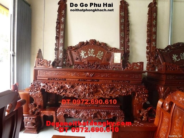 Hoành phi, câu đối Đồ gỗ Phú Hải HP3