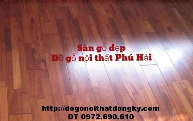 Tu vấn, thi công , lăp đặt sàn gỗ, Sàn gỗ đep SG2