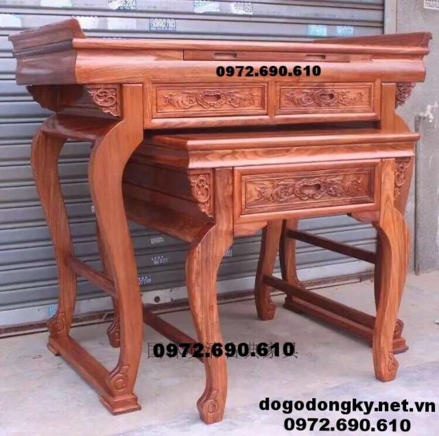 Sản xuất Bàn thờ gia tiên đẹp dogodongky.net.vn ST82