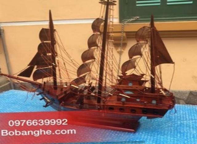 Thuyền buồm gỗ phong thủy mỹ do phú hải sx TB04