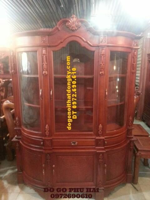 Tủ để rượu Tủ rượu cổ điển TR12