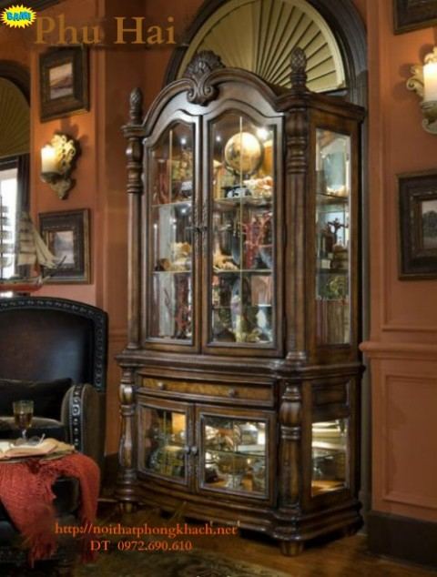 Nơi bán Tủ Rượu Tủ bày rượu TR6