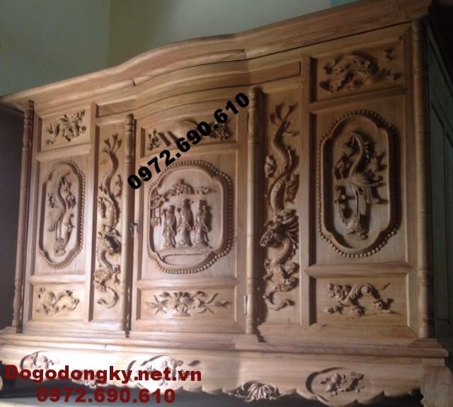 Tủ thờ gỗ mít, gỗ gụ, gỗ hương đẹp TT.41