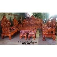 Bộ bàn ghế gỗ Đồng Kỵ kiểu cửu long Bảo Đỉnh B162