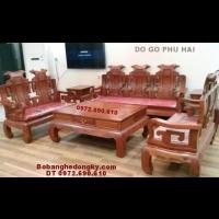 Bộ Bàn Ghế Gỗ Giá Rẻ, Do Go Dong Ky B.221