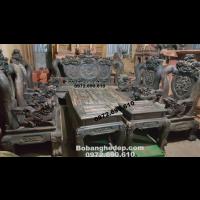 Bo Ban Ghe Go Dep, Ban Ghe Go Mun Hoa Hang Hiem B.253
