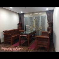 Nơi Bán bộ tràng kỷ đẹp gỗ gụ lõi Dogodongky.net.vn B.288