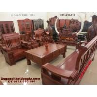 Bộ bàn ghế gỗ đồng kỵ gỗ hương kiểu mới B<>63