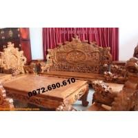 Đồ gỗ Đồng Kỵ Bộ Rồng Bảo Đỉnh dành cho đại gia B86