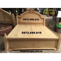Bán Giường ngủ giá rẻ, mẫu mới dogodongky.net.vn GN59