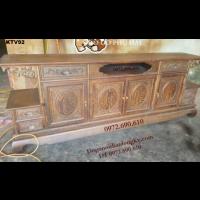 Kệ Tivi Gỗ Đẹp, Kệ Để Tivi Mẫu Mới Cho Phòng Khách KTV.92