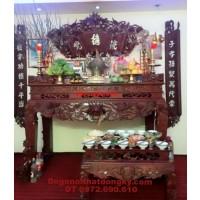 Bàn thờ gỗ gụ, dogonoithatdongky.com ST<>54
