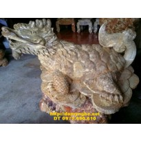 Quà tặng tài lộc, Rùa vàng đầu rồng RV06