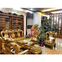 Bàn ghế gỗ nu nghiến (Gỗ Ngọc nghiến): Báu vật từ thiên nhiên