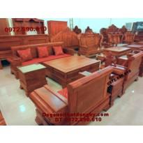 Bộ bàn ghế đồng kỵ gỗ hương kiểu mới B66