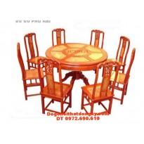 Bộ bàn ăn kiểu Bàn Tròn mặt gỗ Nu BT29