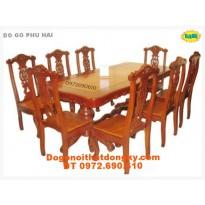 Bộ bàn ghế phòng ăn Kiểu Bàn Chữ Nhật BA 26