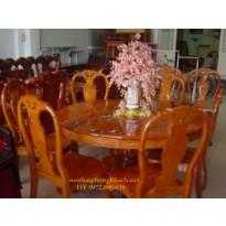 Nơi sản xuất Bộ bàn ghế ăn kiểu Bàn Tròn BT23