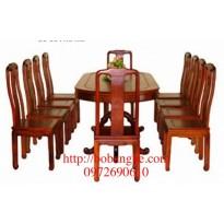 Bộ bàn ăn Bầu dục 11 món BA7-11