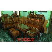 Bộ bàn ghế Minh quốc đào CL03